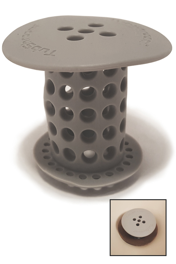 Tubshroom Drain Strainer And Hair Catcher