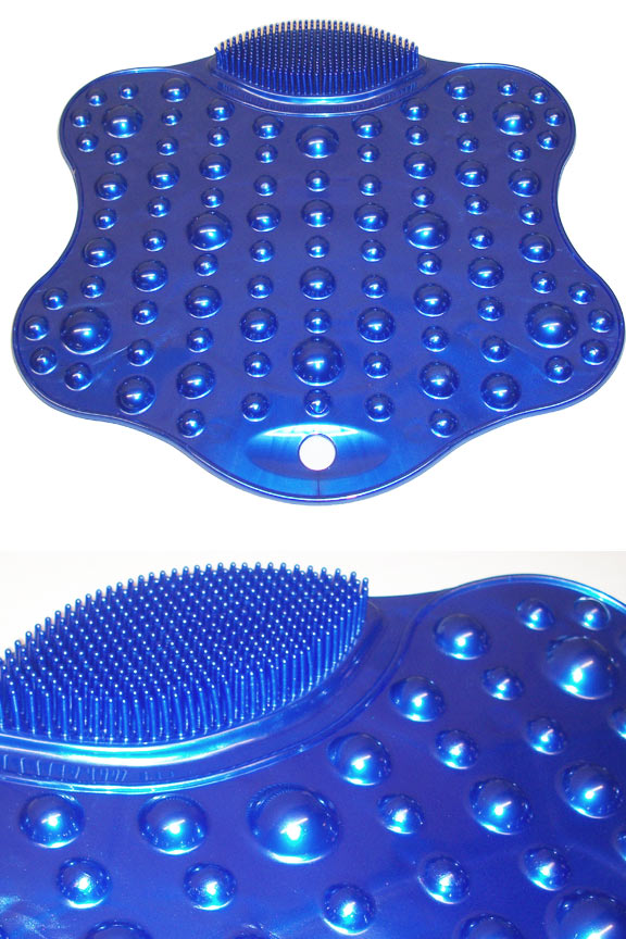 Tub and Shower Mat - Non-slip tub mat with built in scrubbers and massagers.