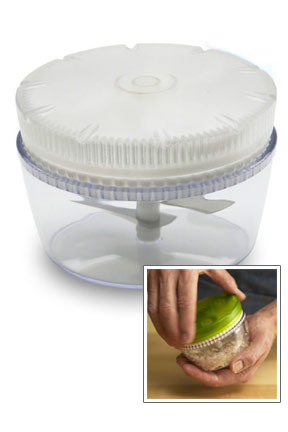 Twist and Chop Vegetable Chopper.