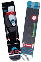 Mens Robot Vs. Robot Socks