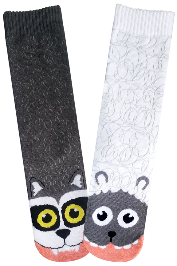 Wolf Vs Sheep Socks For Women