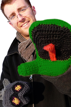 Fun and Functional Winter Mittens.