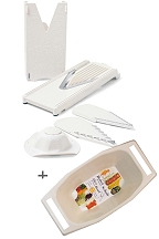 V-Slicer Plus Slice and Serve Combo (7 Piece Set)