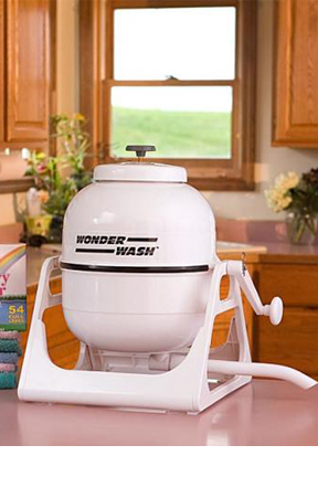 WonderWash - A portable, Hand-Crank Washing Machine